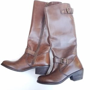 MIA long boots in brown size 6